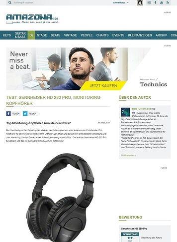 Amazona.de Sennheiser HD 280 Pro