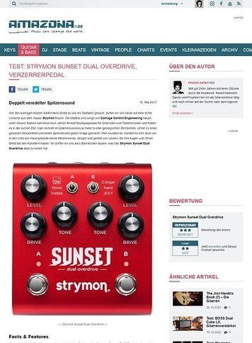 Amazona.de Strymon Sunset Dual Overdrive
