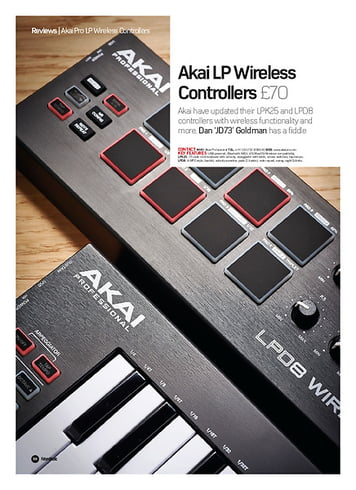 Future Music Akai LP Wireless Controllers