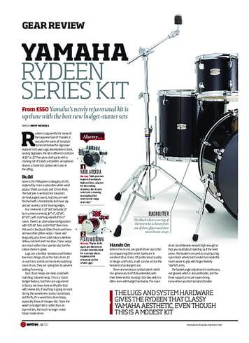 Rhythm Yamaha Rydeen Series Kit