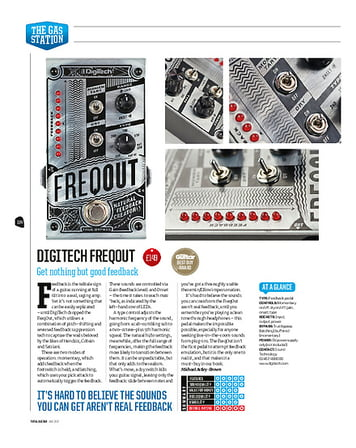 Total Guitar Digitech Freqout