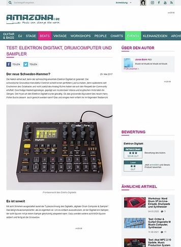 Amazona.de Elektron Digitakt
