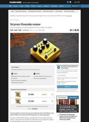 MusicRadar.com Strymon Riverside