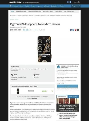 MusicRadar.com Pigtronix Philosopher's Tone Micro