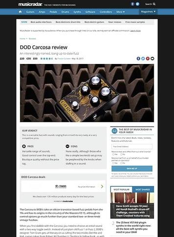 MusicRadar.com DOD Carcosa