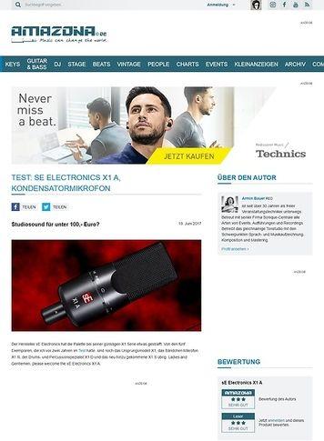Amazona.de sE Electronics X1 A