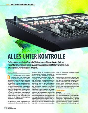 Professional Audio Presonus Faderport 8