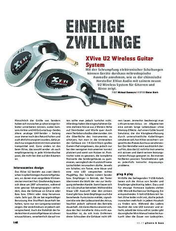 Gitarre & Bass XVive U2 Wireless Guitar System