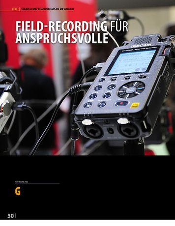 Professional Audio Tascam DR-100 MK3