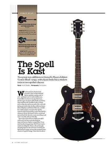 Guitarist Gretsch G6659TG Players Edition Broadkaster Jr
