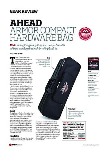 Rhythm Ahead Armor Compact Hardware Bag