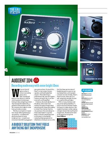 Total Guitar Audient ID4