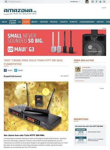 Amazona.de t.bone free solo Twin HTPT 590 MHz