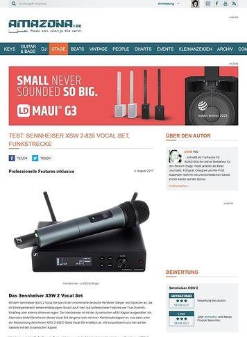 Amazona.de Sennheiser XSW 2-835 Vocal Set