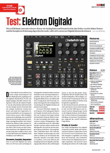 Beat Elektron Digitakt