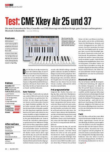 Beat CME Xkey Air 25 und 37