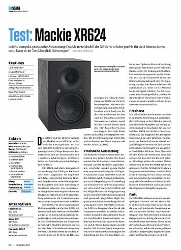 Beat Mackie XR624