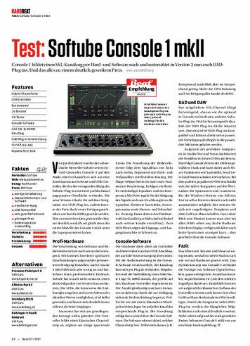 Beat Softube Console 1 MKII