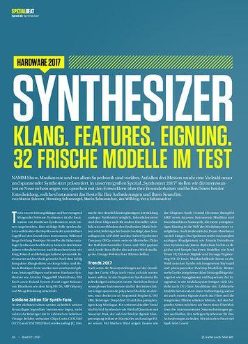 Beat Sythesizer: Klang, Features, Eignung. 32 frische Modelle im Test