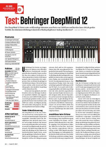 Beat Behringer Deepmind 12