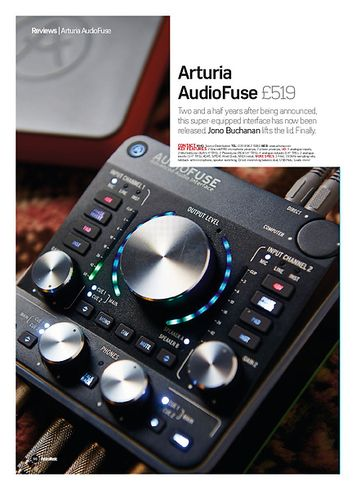 Future Music Arturia AudioFuse