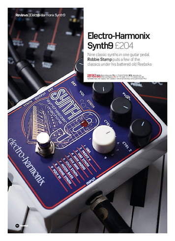Future Music Electro-Harmonix Synth9