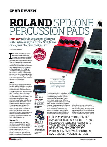 Rhythm Roland SPD:One Percussion Pads