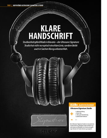 Professional Audio Ultrasone Signature Studio
