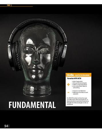 Professional Audio  Yamaha HPH-MT8