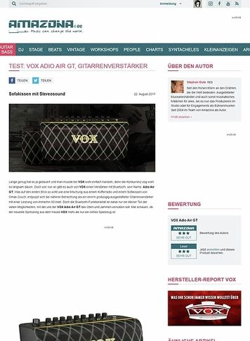Amazona.de VOX Adio Air GT