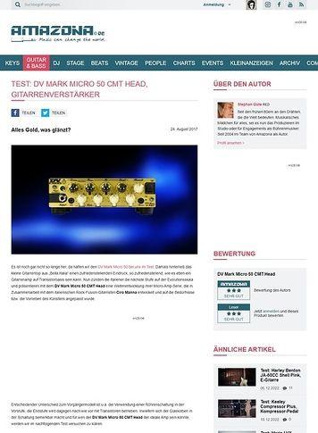 Amazona.de DV Mark Micro 50 CMT Head