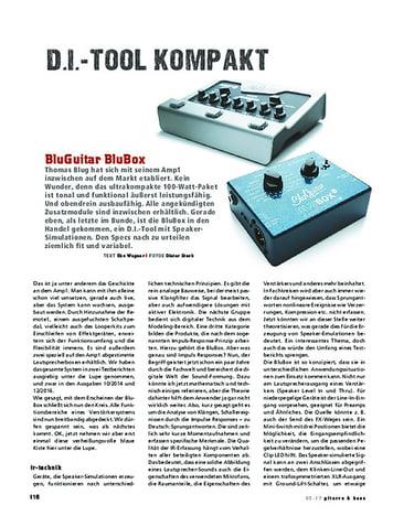 Gitarre & Bass BluGuitar BluBox