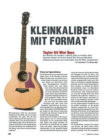 Gitarre & Bass Taylor GS Mini Bass, Acoustic-Bass