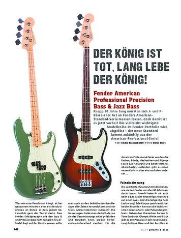 Gitarre & Bass Fender American Professional Precision Bass & Jazz Bass