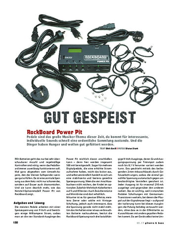 Gitarre & Bass RockBoard Power Pit