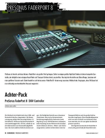 Sound & Recording PreSonus FaderPort 8