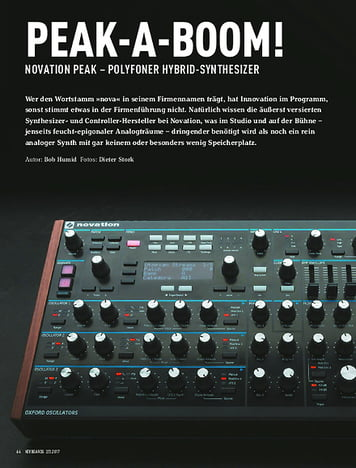 Keyboards NOVATION PEAK