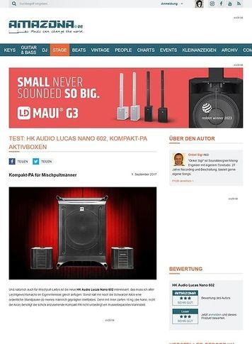 Amazona.de HK Audio Lucas Nano 602