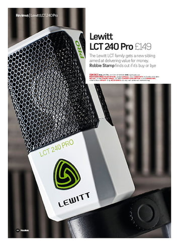 Future Music Lewitt LCT 240 Pro