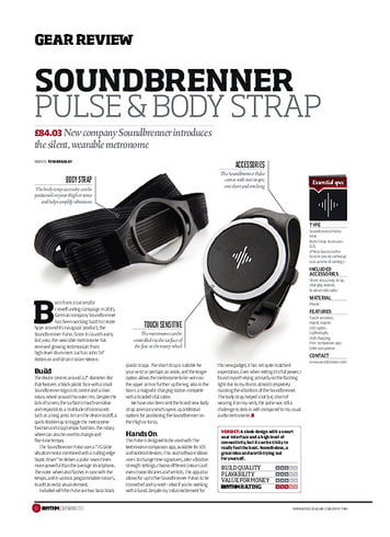 Rhythm SoundBrenner Pulse&Body Strap