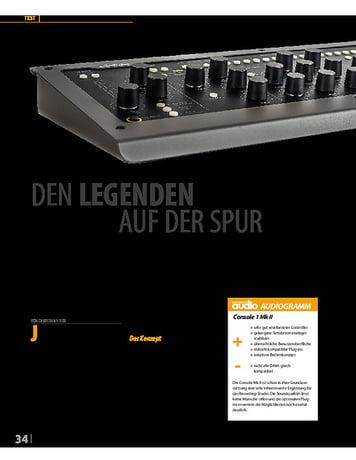 Professional Audio Console 1 MK II