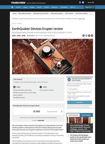MusicRadar.com EarthQuaker Devices Erupter