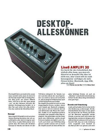 Gitarre & Bass Line6 AMPLIFI 30