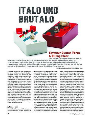 Gitarre & Bass Seymour Duncan Forza & Killing Floor