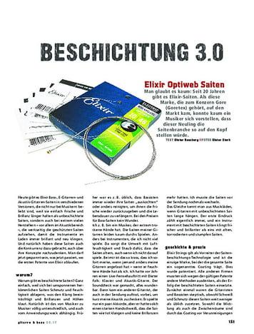 Gitarre & Bass Elixir Optiweb
