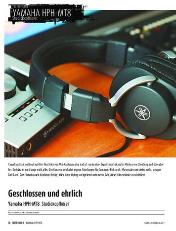 Sound & Recording Yamaha HPH-MT8
