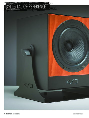 Sound & Recording KSdigital C5-Reference