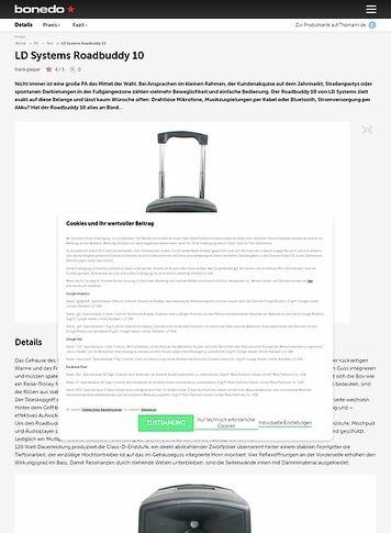 Bonedo.de LD Systems Roadbuddy 10