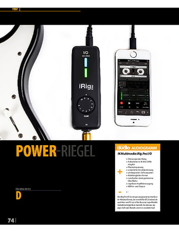 Professional Audio IK Multimedia iRig Pro I/O