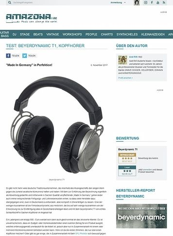 Amazona.de beyerdynamic T1